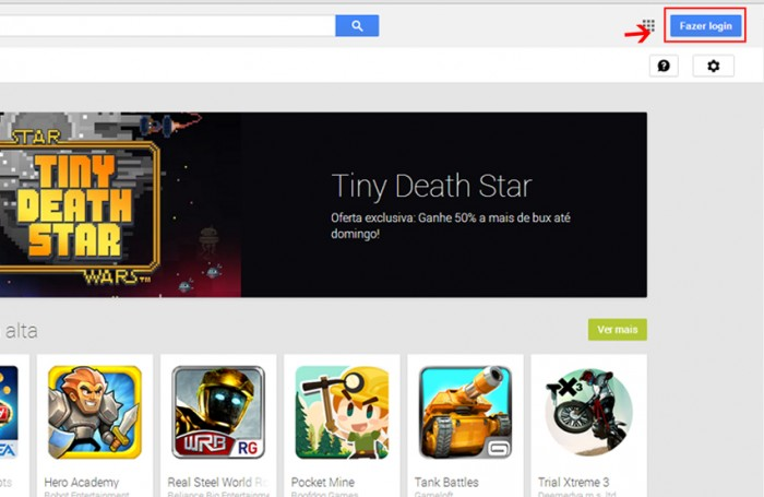 Como Baixar do Google Play