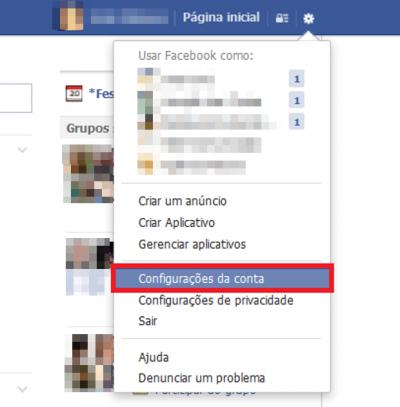 Como Desativar sua Conta Facebook