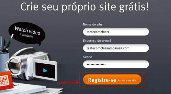 Como fazer um site Webnode