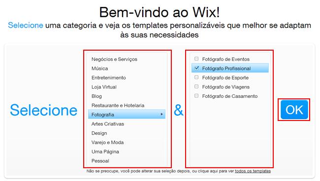Cómo hacer un sitio en Wix 7