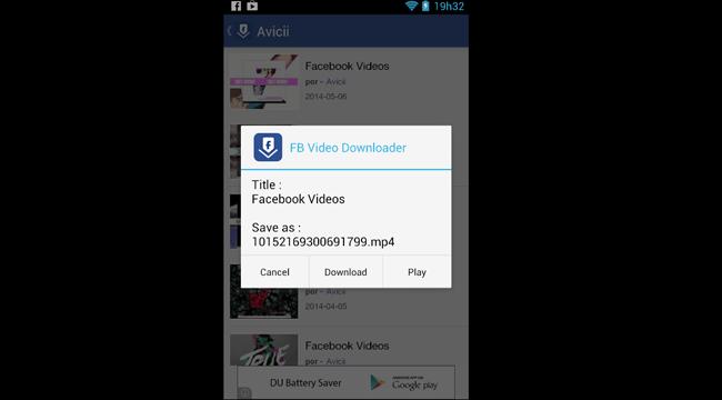 Cómo descargar vídeo de Facebook para móviles