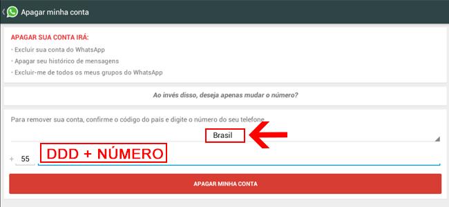 Como Excluir Conta do WhatsApp