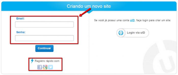 Cómo hacer un sitio web uCoz 3
