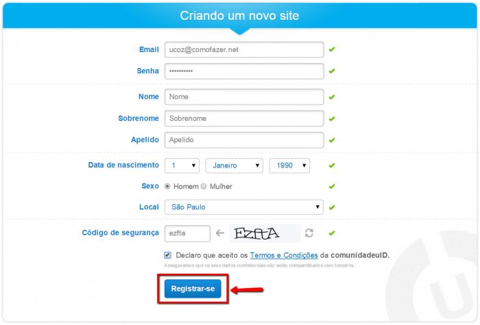 Cómo hacer un sitio web uCoz 4