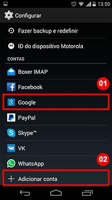 Como Fazer Backup dos Contatos no Android