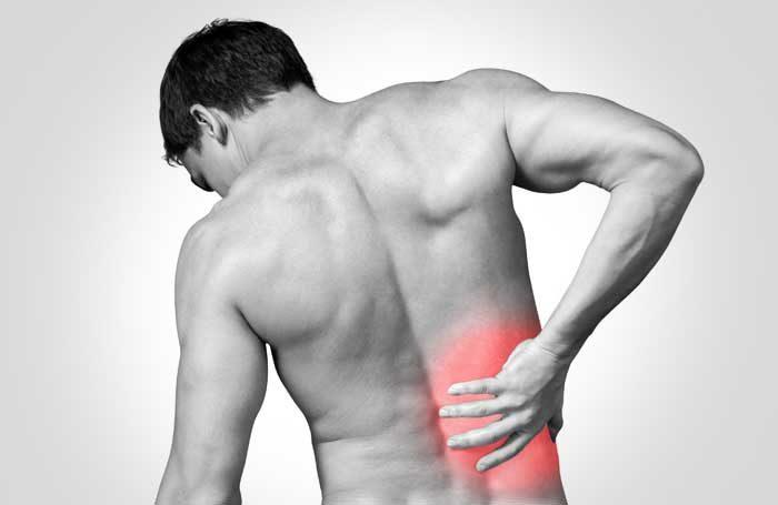 dor nas costas lado direito