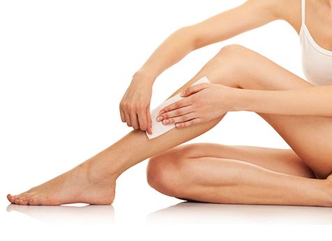 como depilar as pernas