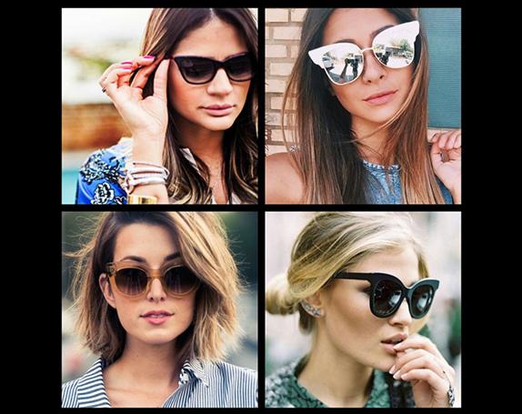 a50833527d225 Tendências em Óculos de Sol Verão 2018 - Como Fazer