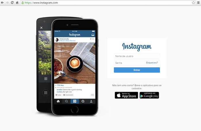 pagina-incial-do-instagram