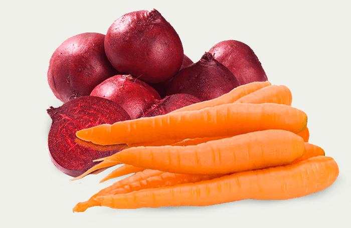 Resultado de imagem para cenoura e beterraba