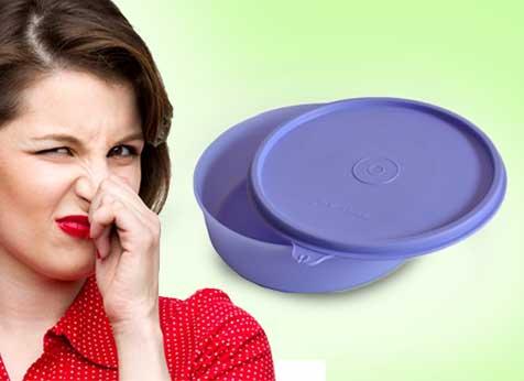 Remover Cheiro de Tupperwares
