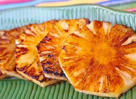 abacaxi assado no forno