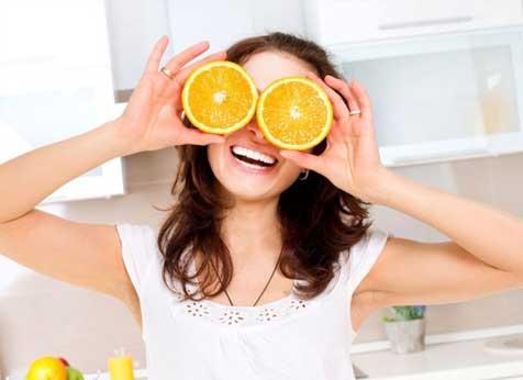 alimentos para melhorar a visão