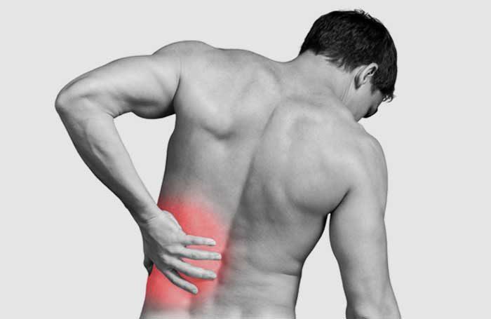 dor nas costas lado esquerdo