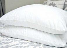 limpar os travesseiros