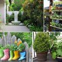 como decorar seu jardim