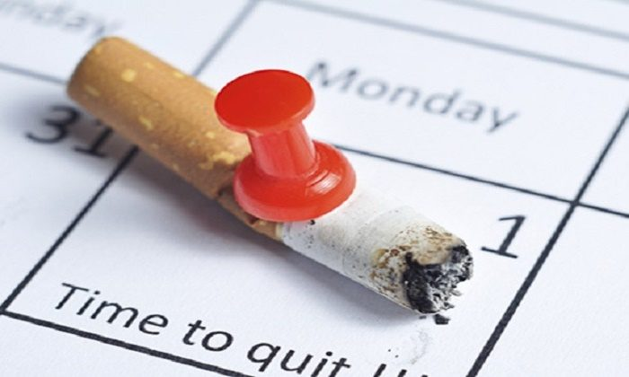 data para parar de fumar