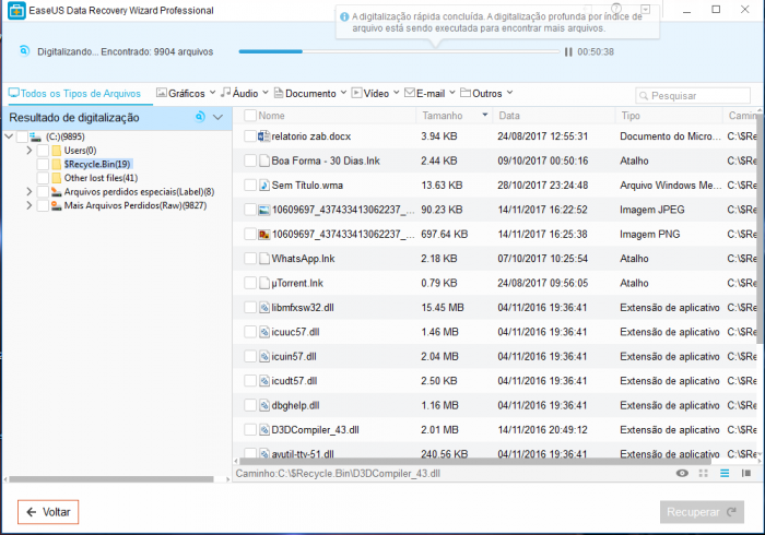 Revise EaseuUS Data Recovery Wizard Professional 5