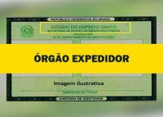Órgão Expedidor