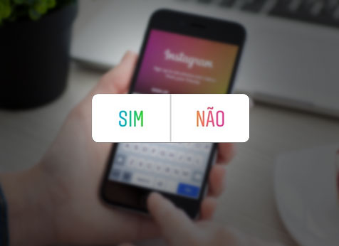 enquete do instagram
