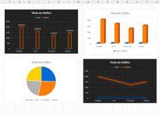 gráfico no Excel