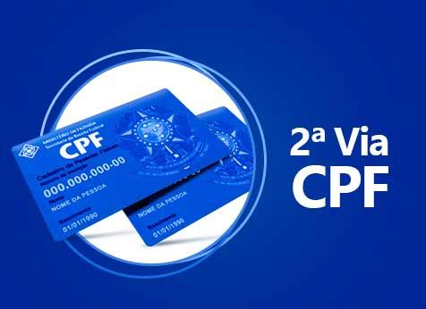 2 via do cpf