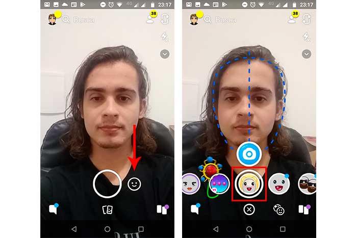aplicativo snapchat