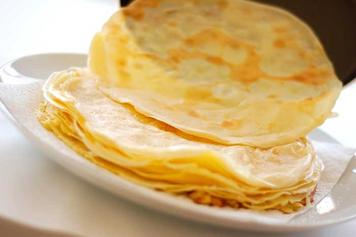 massa do crepe