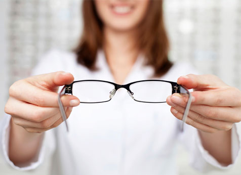 limpar os óculos
