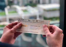 preencher um cheque